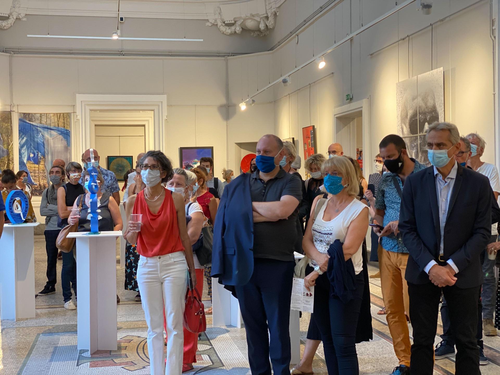 Salon regain art lyon 20 vernissage 17