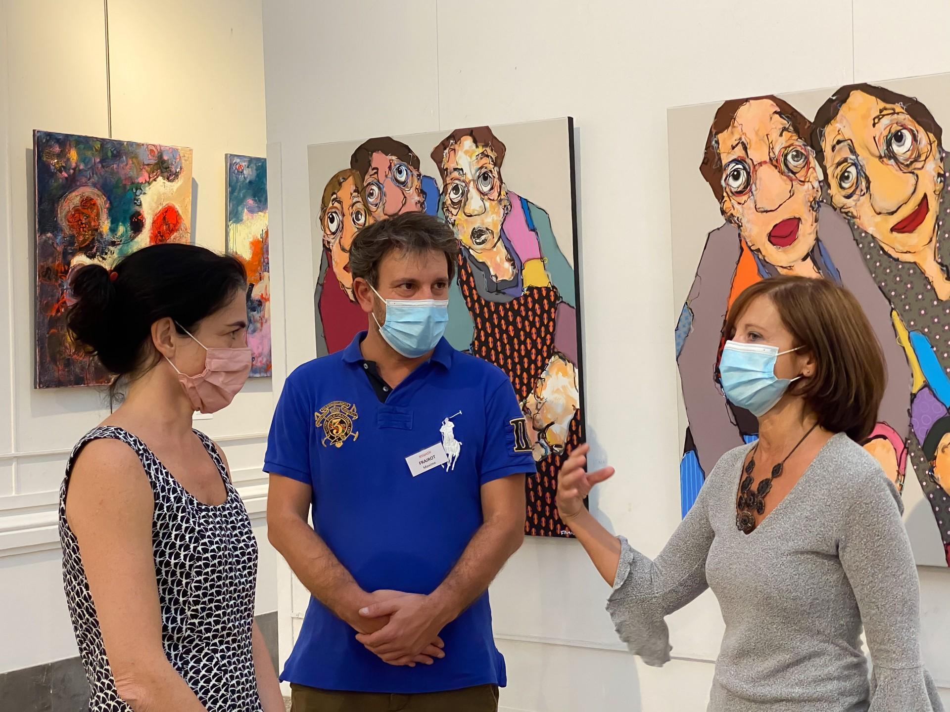 Salon regain art lyon 20 vernissage 44