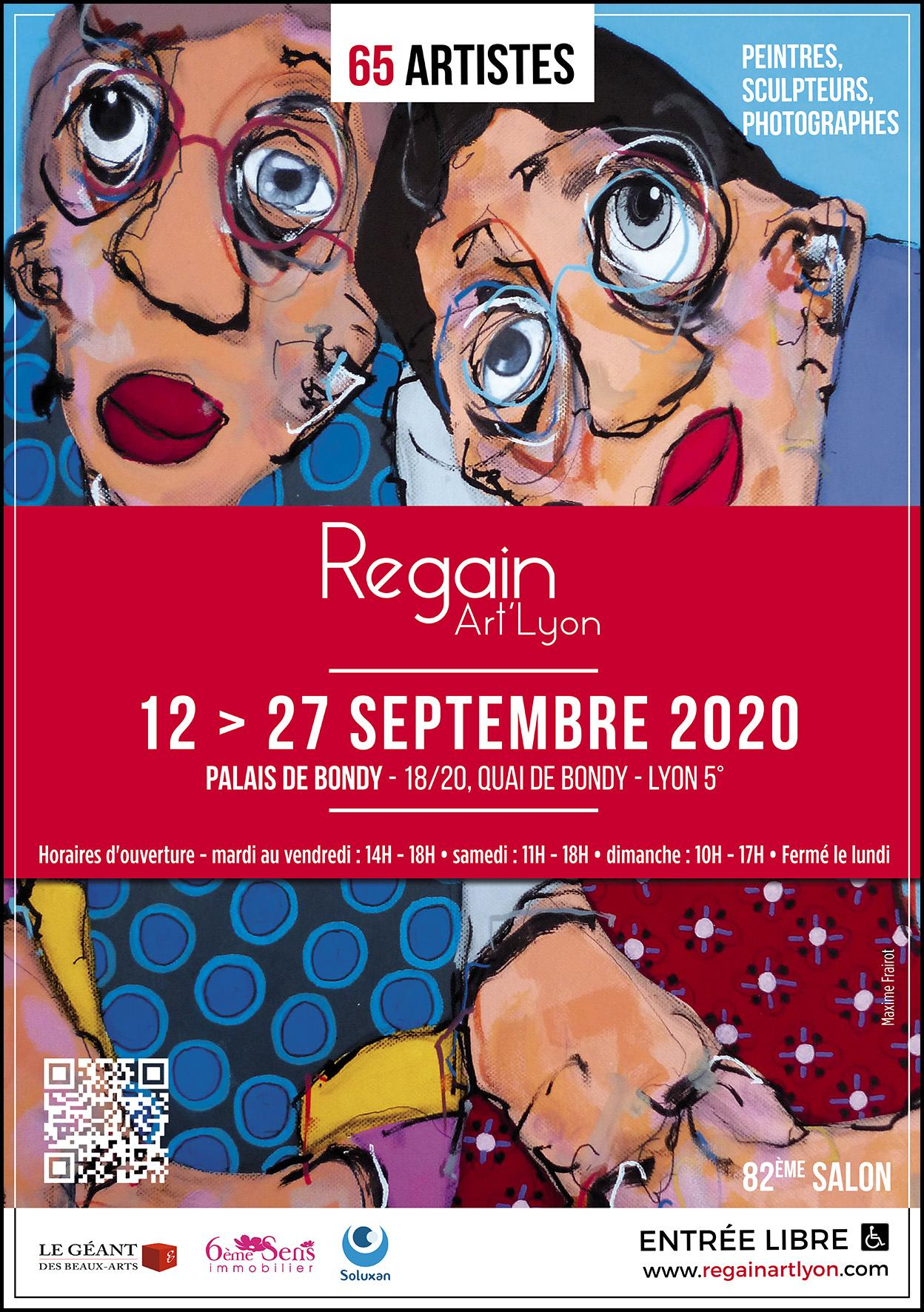 AFFICHE REGAIN ART'LYON 2020 A TELECHARGER